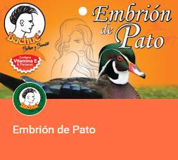 tratamiento capilar de embrion de pato BACHUE