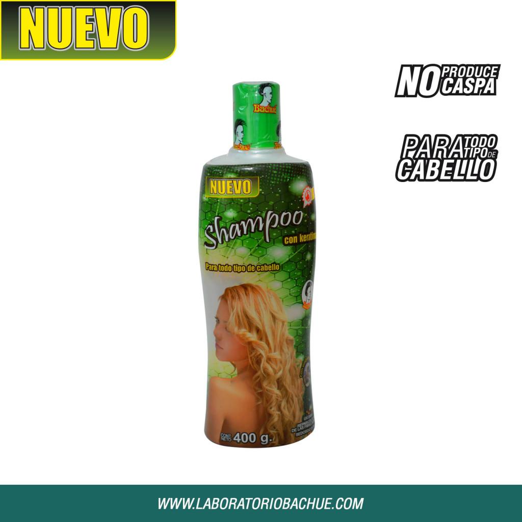 shampoo bachue 400grs