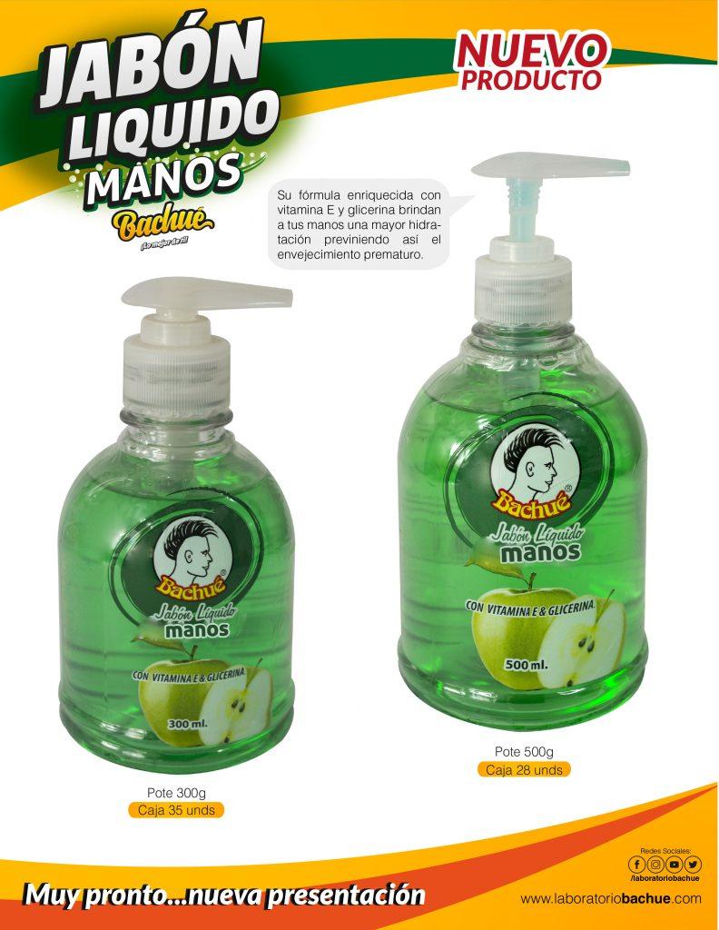 catalogo 2020 Jabon Liquido Manos Bachue