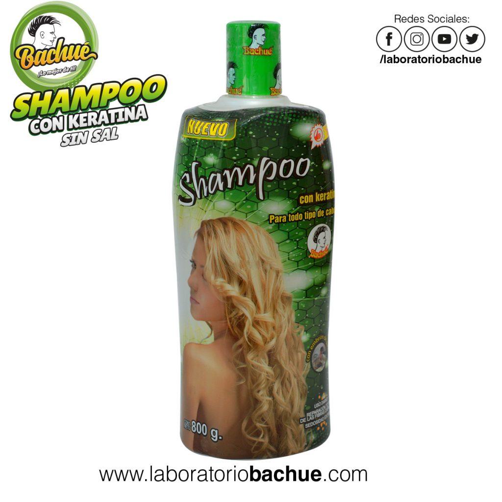 Shampoo con Keratina Bachue 800 gramos