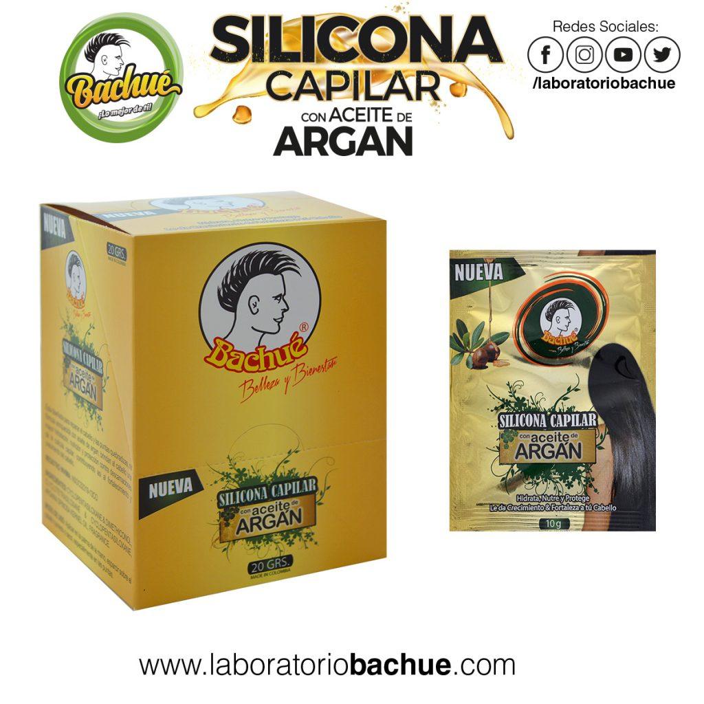 Silicona Capilar Aceite Argan 10gr