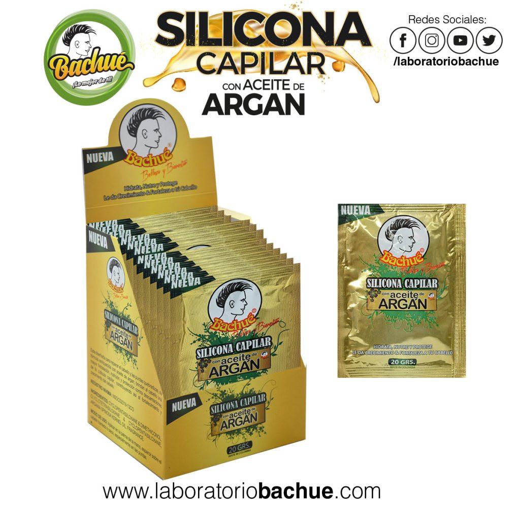 Silicona Capilar Aceite Argan 20gr